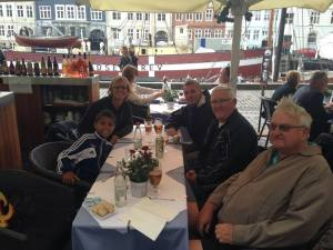 Lunch in Nyhavn.